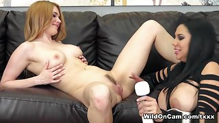 Jayme Langford & Missy Martinez in Missy and Jayme Fuck - WildOnCam