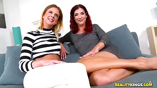 Shona River & Steffany & James Brossman in Bang Her And Me - EuroSexParties