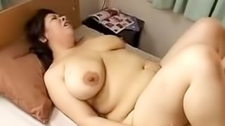 Asian mom blows and gets her fleshy vag drilled hard