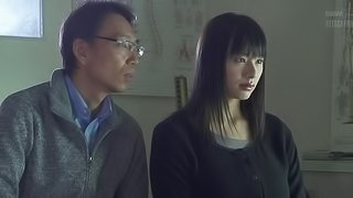 Huge Japanese boobs take his breath away in an erotic fuck