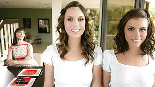 Adriana Chechik & Jade Nile in Mother's Secret Twins: Part One Video