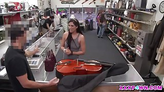 Sexy Chic From Brazil Pawns a Cello in the Pawshop