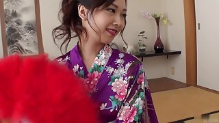 Hottest Japanese girl Saki Fujii in Fabulous JAV uncensored Threesomes scene