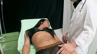 Big Cock Tranny Jerking Off As She Gets Her Asshole Banged