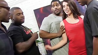 Anal Slut Tiffany Doll Loves DP Gangbang And Big Black Cock