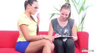 FakeShooting - Boss Mea Melone let agent fuck innocent babe on fake casting