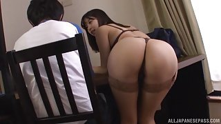 Japanese Mentor Fucks Her Student When The Parents Leave