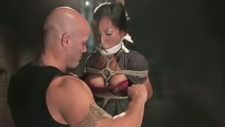 Gorgeous Asian Chick Tia Ling Gets Rough Sex and Domination in BDSM Vid