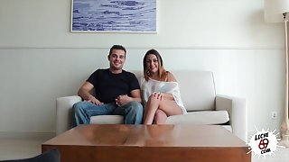 LECHE 69 Amateur couple first time on camera