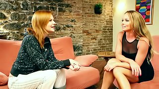 Nice interview with a sweet babe Tara White