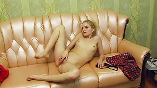 Hottest Homemade video with Blonde, Russian scenes