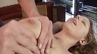 Kiki getting fingered after sexy interview